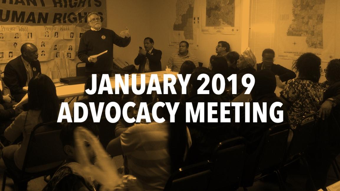 January 2019 AdvocacyMeeting